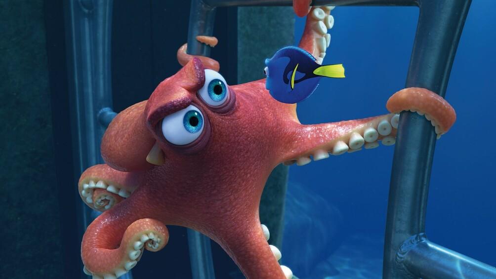 Link zu Station 5) Hank – ein Mimikry-Oktopus