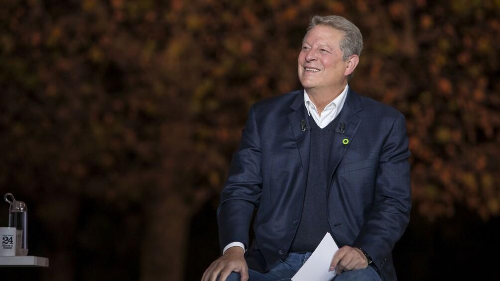 Link zum Arbeitsblatt Was hat Al Gore mit dem Klimawandel zu tun?