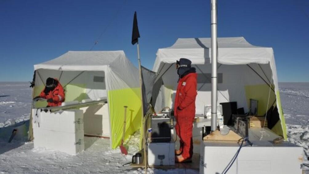 Link zum Arbeitsblatt Wissenschaft in der Antarktis – gestern und heute