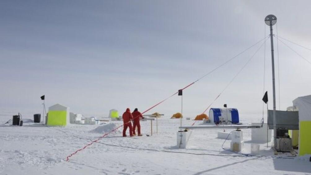 Link zum Arbeitsblatt Eine Antarktis Expedition im Jahr 2013